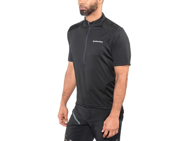 Endura Hummvee Maglietta jersey a maniche corte Uomo, black
